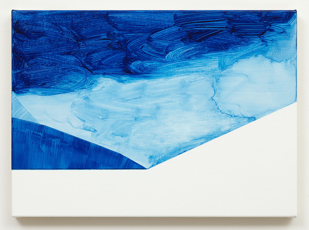 Untitled (Paris Blue) 2012