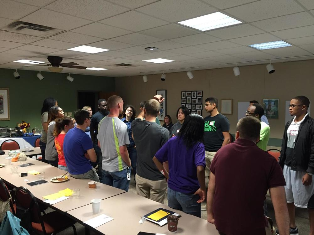 Kettering University Kagle Leadership Students discuss what it means to be a heroic leader