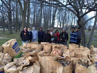 GEAR service day at Cook Park in Flint, MI (Responsibility and Taking Action!)