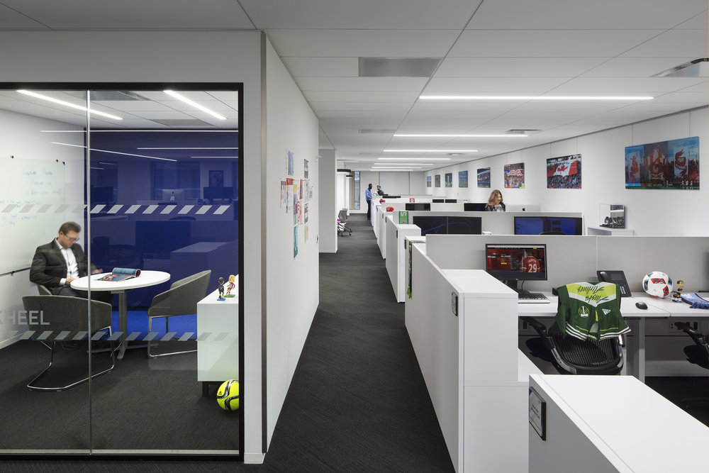office resources was able to supply a great solution while staying within their budget the 33000 square foot space consists of 220 workstations along