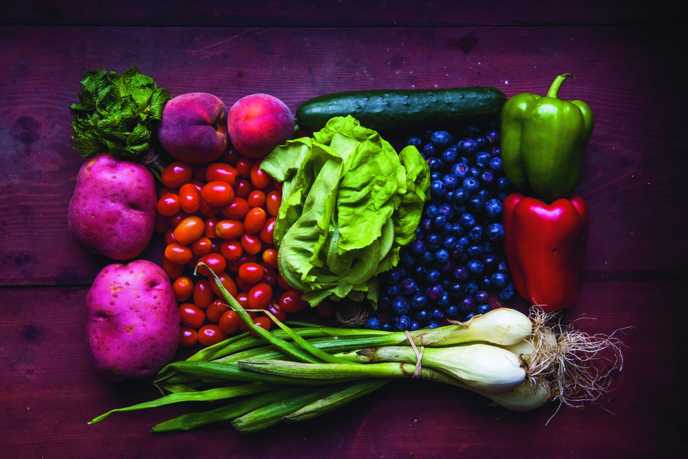 Sign up for the Saint Box, a weekly CSA-style share of locally grown produce!