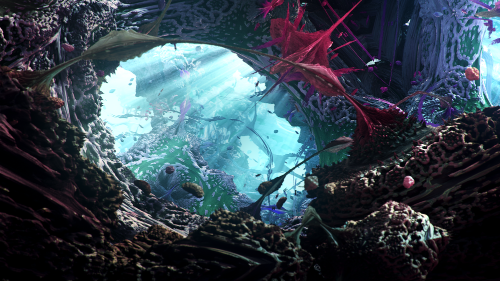 Underwater 2560x1440