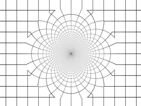 The effect of 2-dimensional inversion in a circle