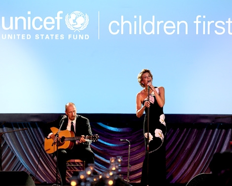 Faith Hill performing at The 2015 UNICEF Audrey Hepburn® Society Ball   in Houston, Texas.