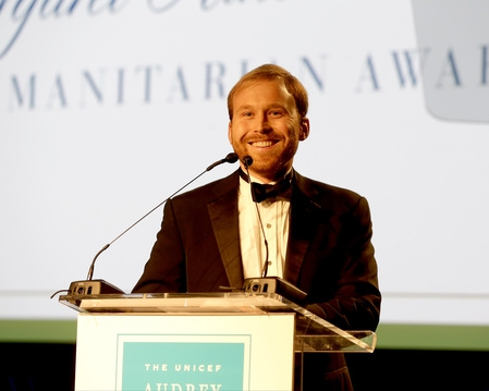 Pierce Bush at The 2015 UNICEF Audrey Hepburn® Society Ball in Houston, Texas.