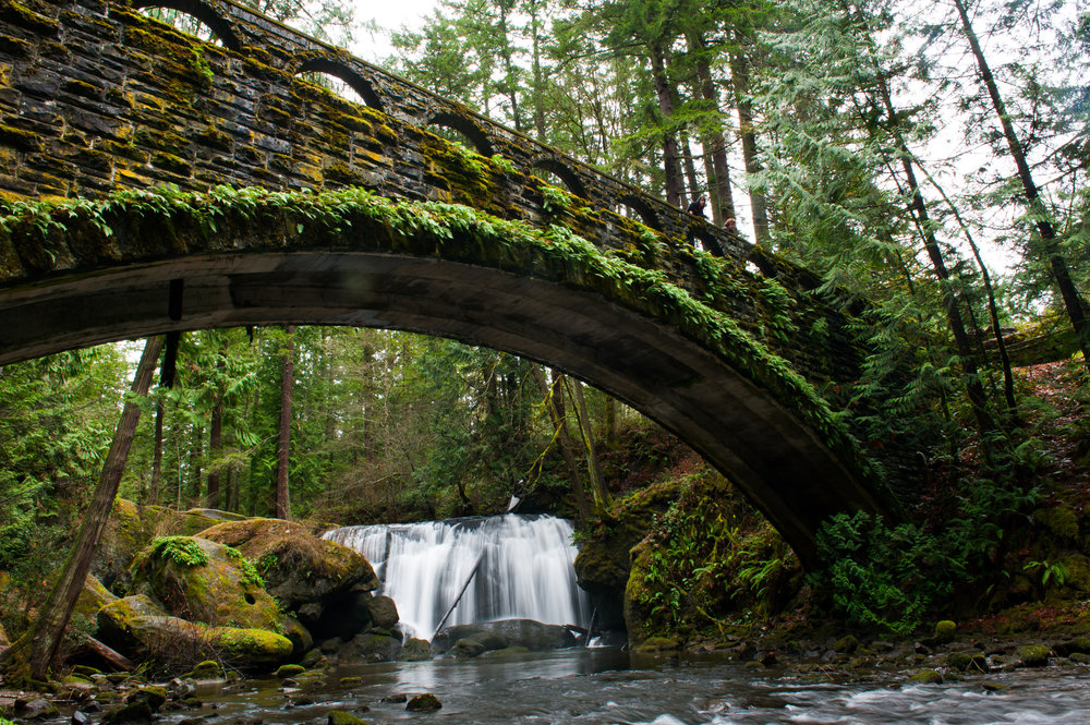 Whatcom Falls Park, Bellingham, Washington