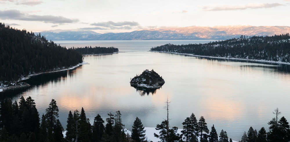 Inspiration Point, Lake Tahoe, California