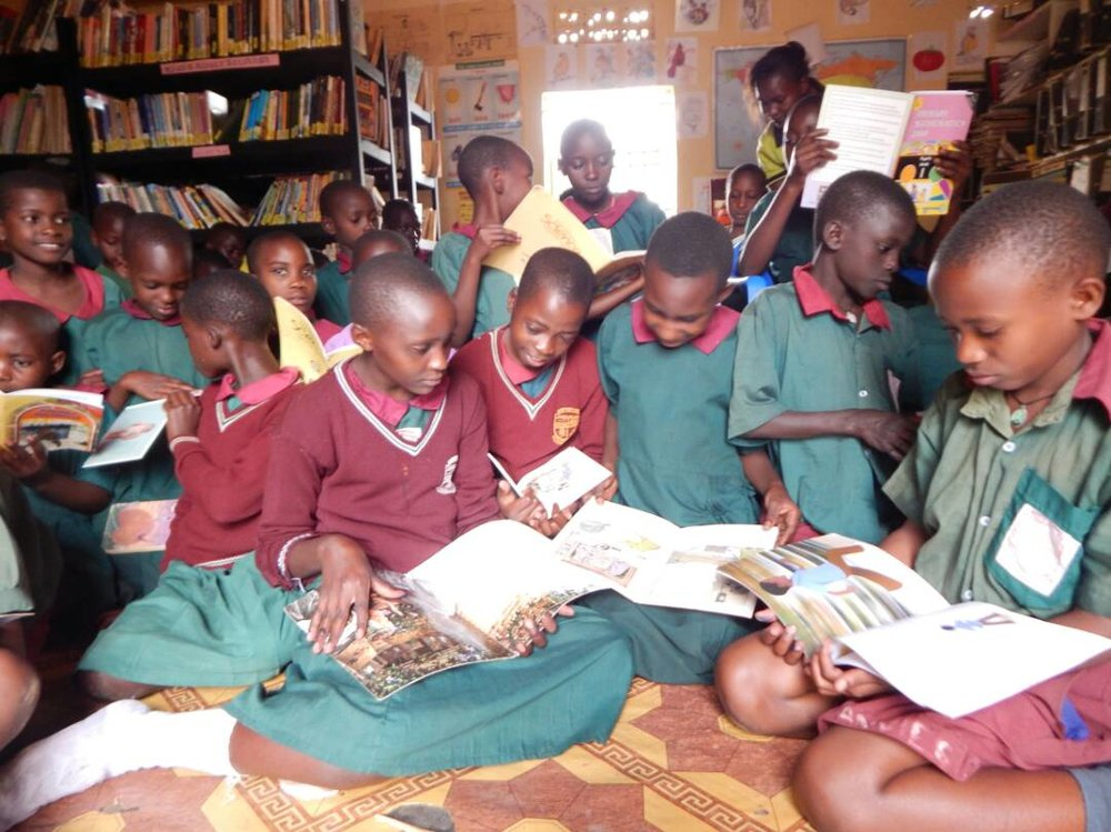 Kyazanga Modern Primary School Kyazanga, Masaka District, Uganda Library Opened: 4/8/15