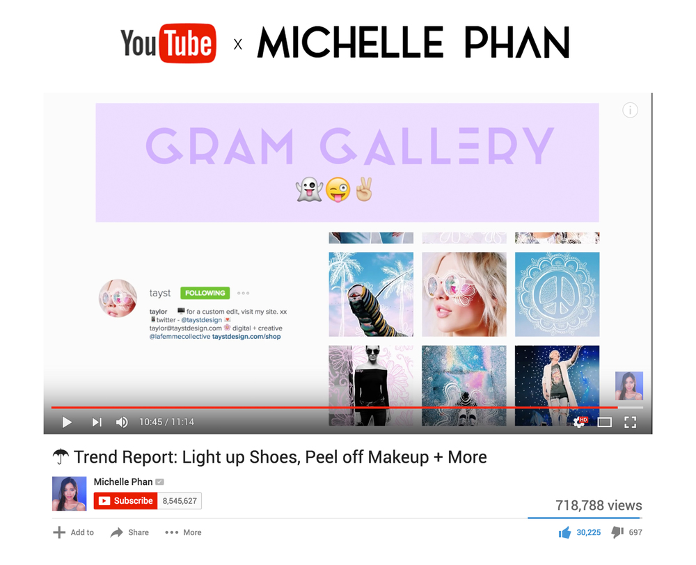 Michelle Phan Trend Report
