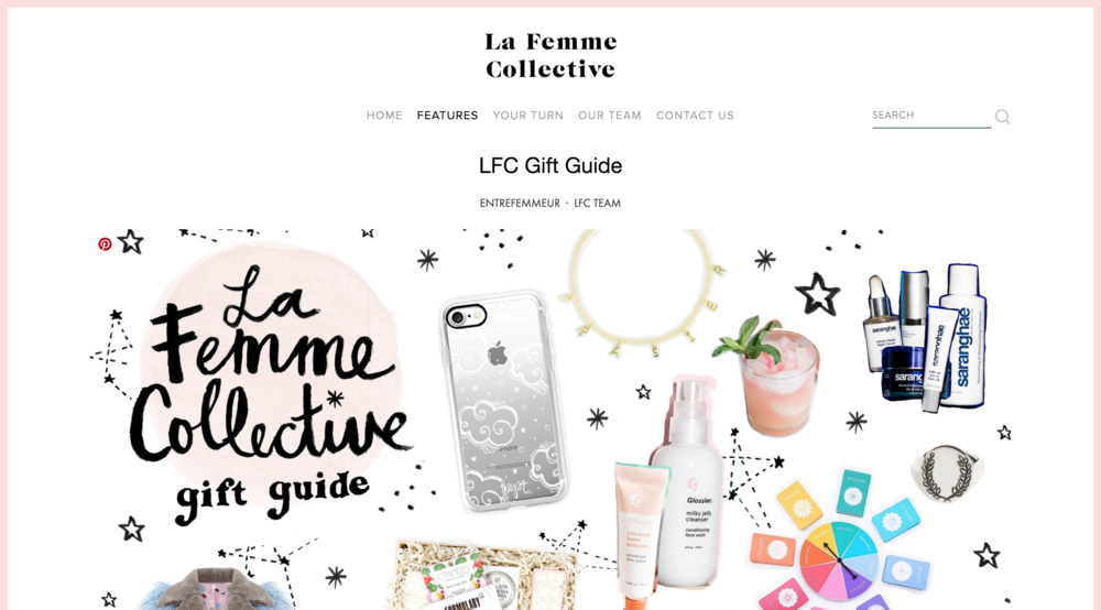 La Femme Collective Gift Guide featuring Tayst iPhone Case