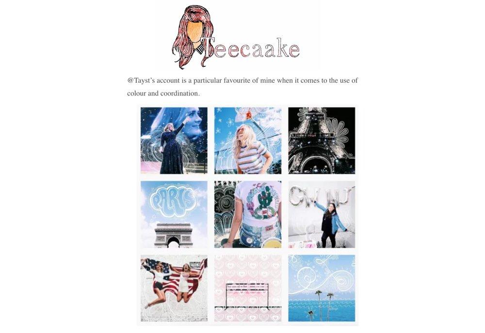 Teecaake Spotlight