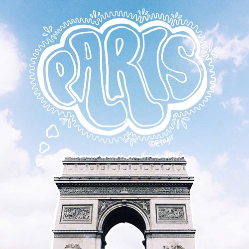 PARIS IN FOUR MONTHS -