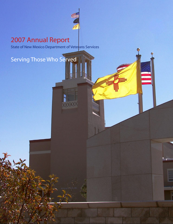 Annual Report NM Department of Veterans Services