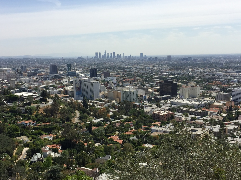 From Runyon Canyon
