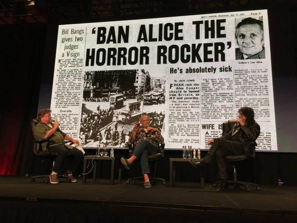 Keynote: Shep Gordon & Alice Cooper