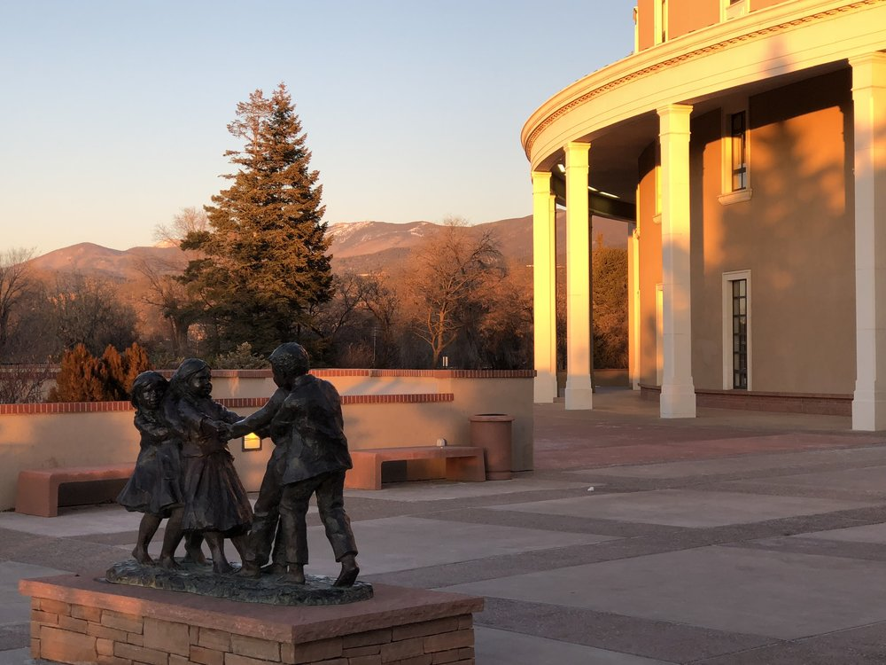 Our NM State Capitol is beautiful.