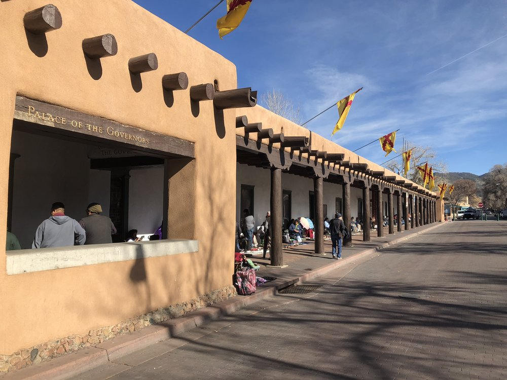 Palace of the Governors, Santa Fe Plaza