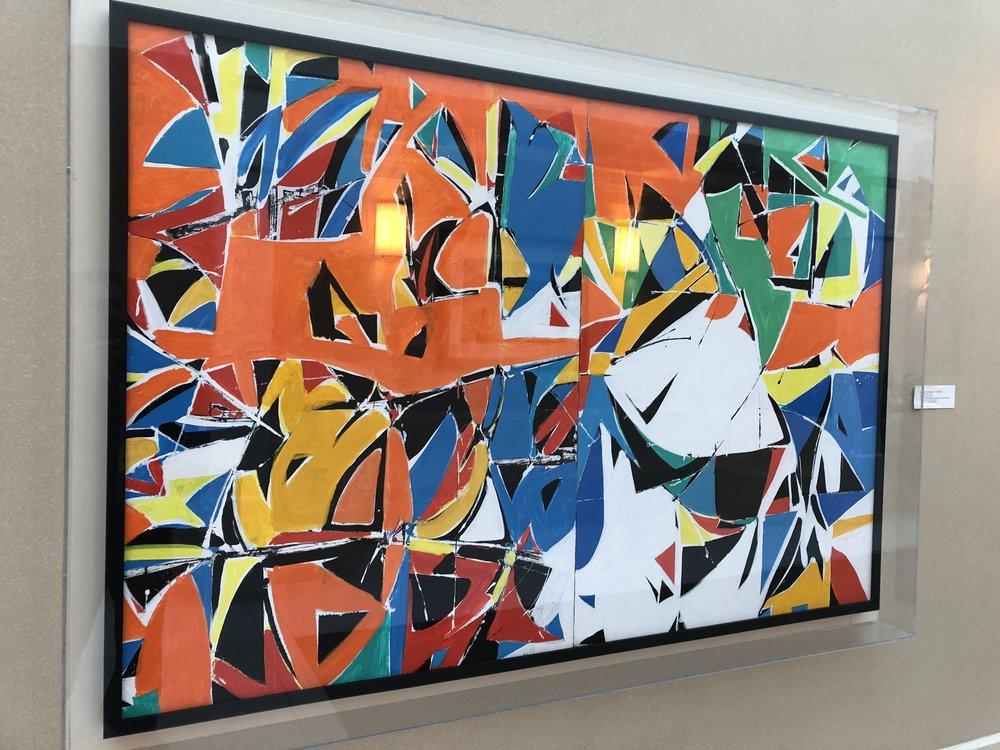 """Jazz II"" by Beatrice Mandelman (1912-1998)"