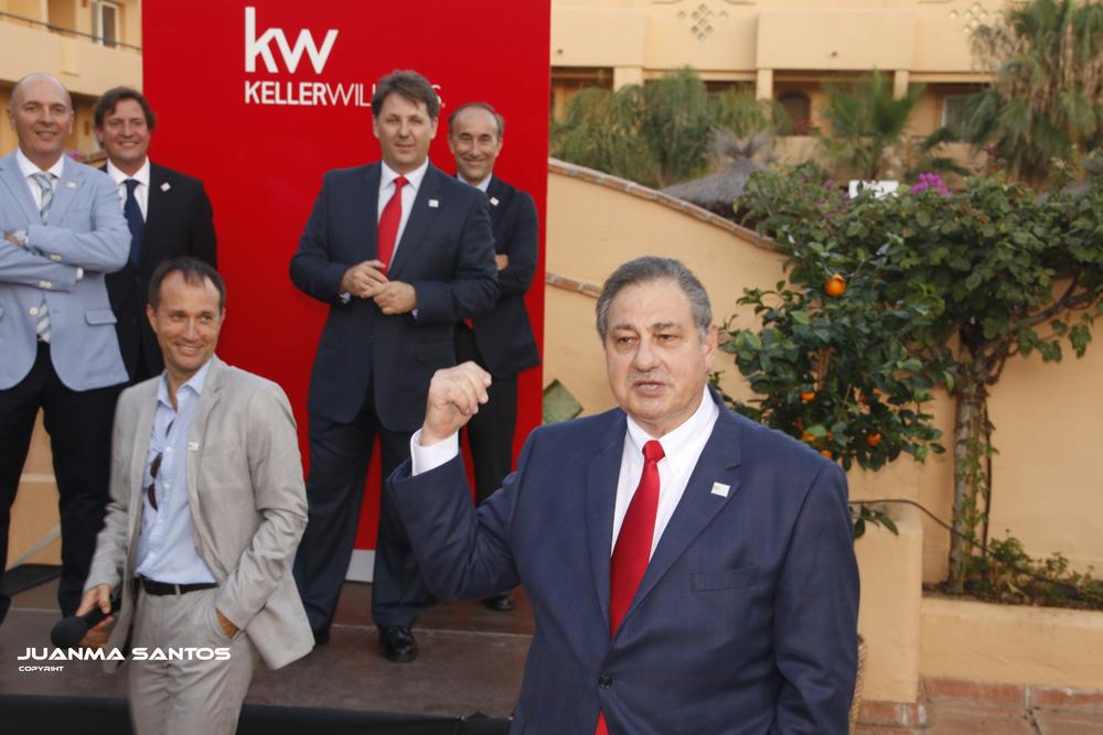 William Soteroff (Presidente de KW Mundial) durante la Presentación Oficial de KELLER WILLIAMS España el pasado 25 de Junio
