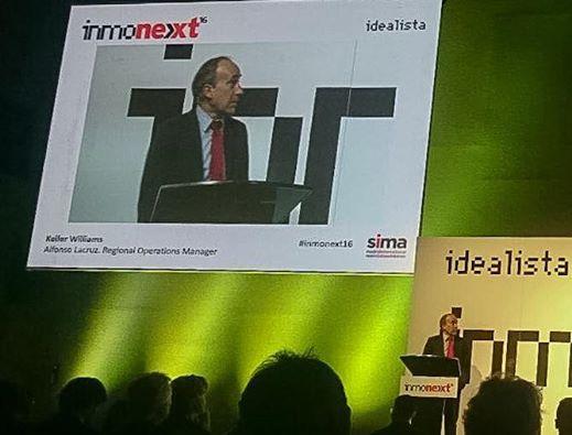Alfonso Lacruz durante su intervención en INMONEXT (Madrid - SIMA - 6 de Mayo de 2016)