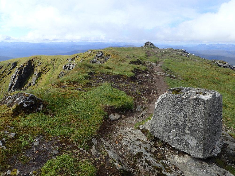 Meall a'Chrasgaidh, Sgurr nan Clach Geala, Sgurr nan Each, Sgurr Mor, & Beinn Liath Mhor Fannaich - July 12, 2017