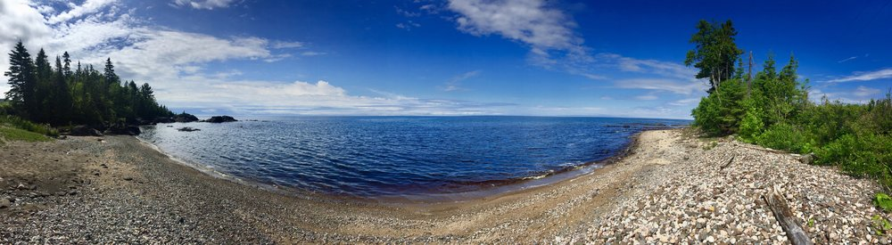 Lake Superior panorama