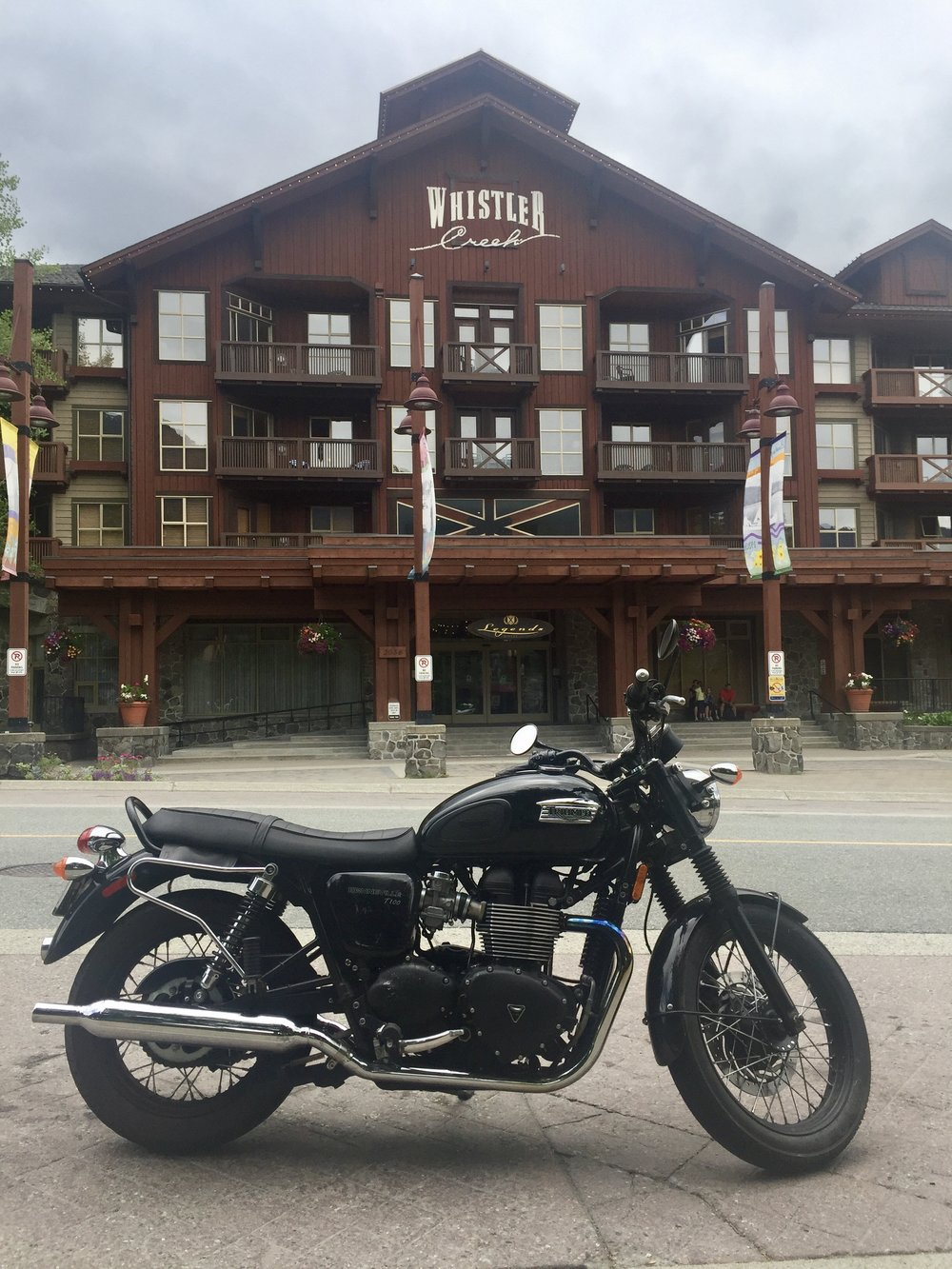 Whistler Mountain has two parts - Whistler Creek and Whistler Village