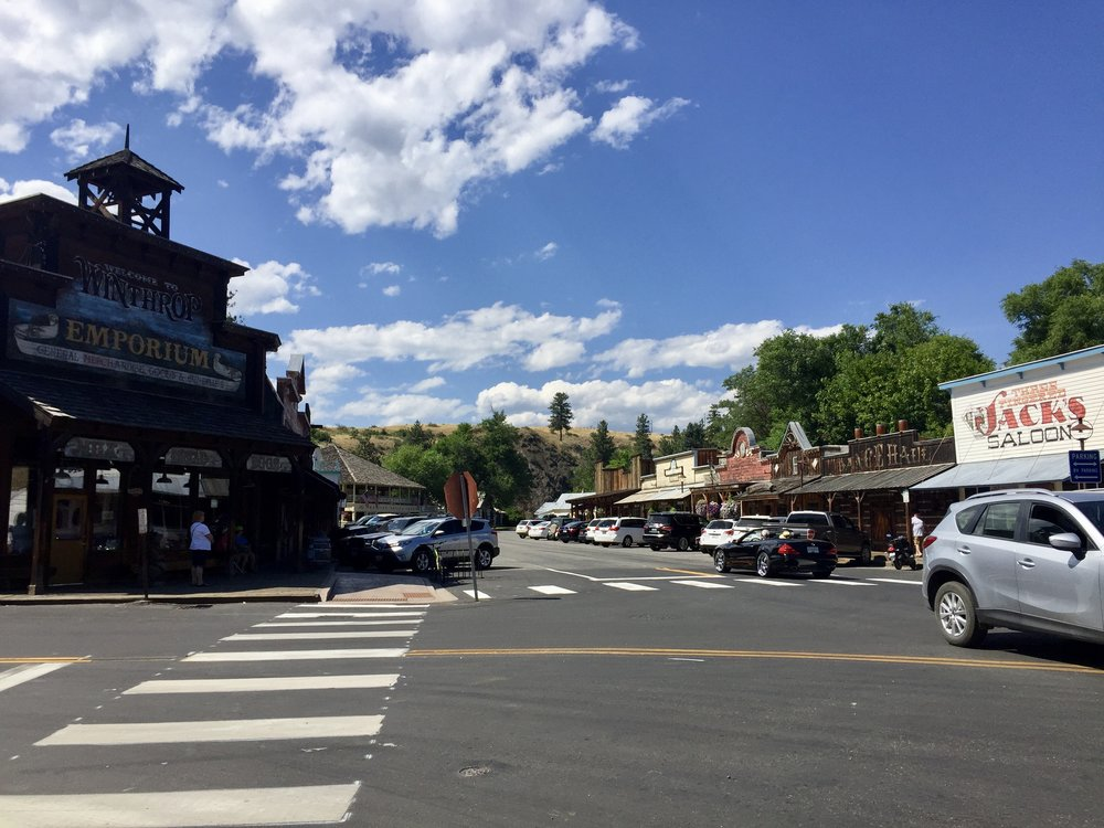 Western town of Winthrop