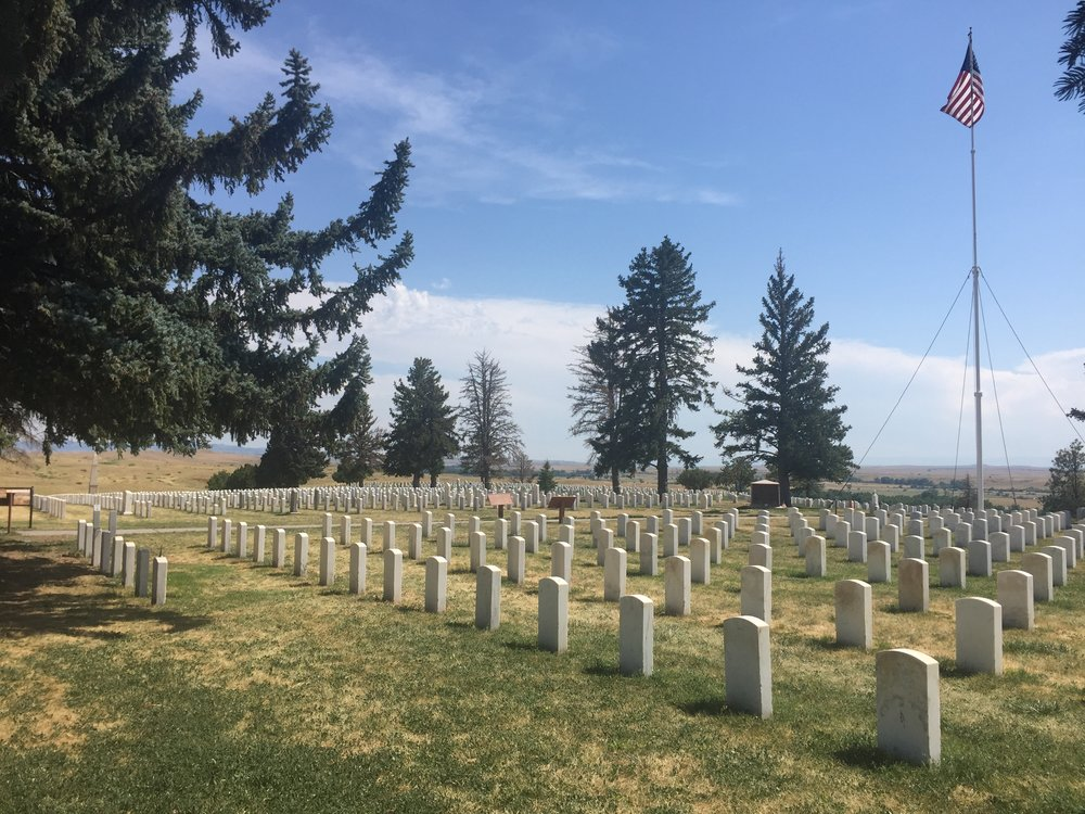 Cemetery at Little Big Horn