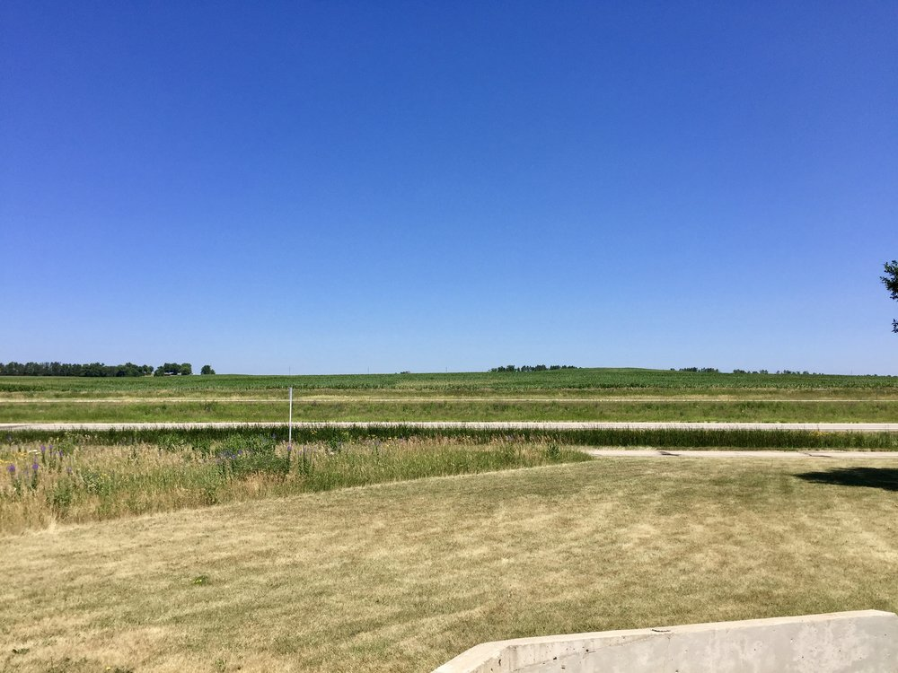 Green fields of Minnesota