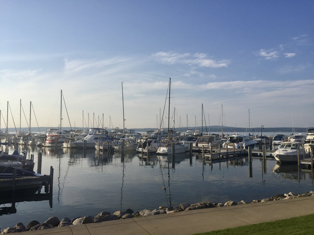 The waterfront in Petoskey