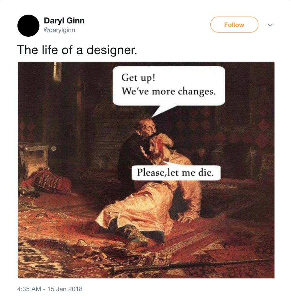 The tweet that started it all.   Source