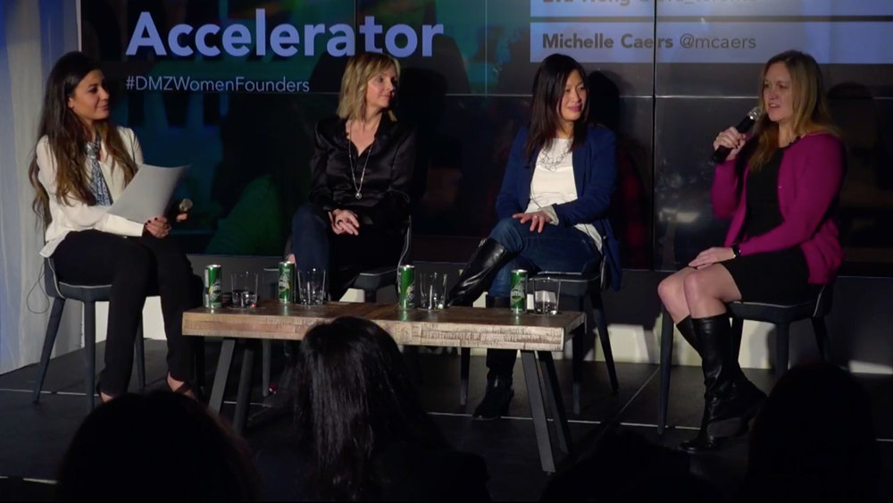 LIVE STREAM   DMZ Women Founders Accelerator: A Canada-wide program helping leading early-stage tech companies achieve product-market fit.