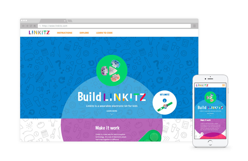 Linkitz - Linkitz is a wearable electronic toy for social play and allows kids to have fun while learning to program. #edtechLearn how we made Linkitz into fun learning platform