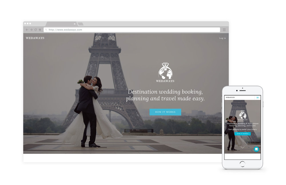 WEDAWAYS - WEDAWAYS is an online booking, planning and travel platform for luxury destination weddings and honeymoons. #ecommerceLearn how we helped WEDAWAYS plan, create and build their platform