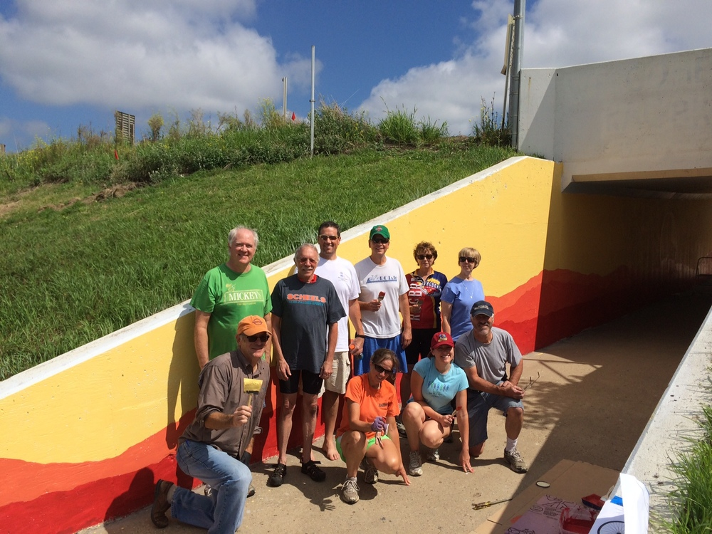 RAGBRAI 2015 Tunnel Project
