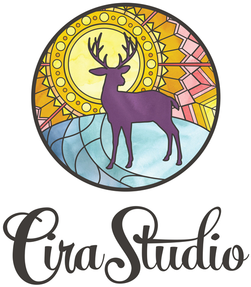 Cira studio Logo Design in Salt Lake City, Utah//   Website Design - Branding - Logo Design - Entrepreneur Blog and Resource by Dapper Fox Design