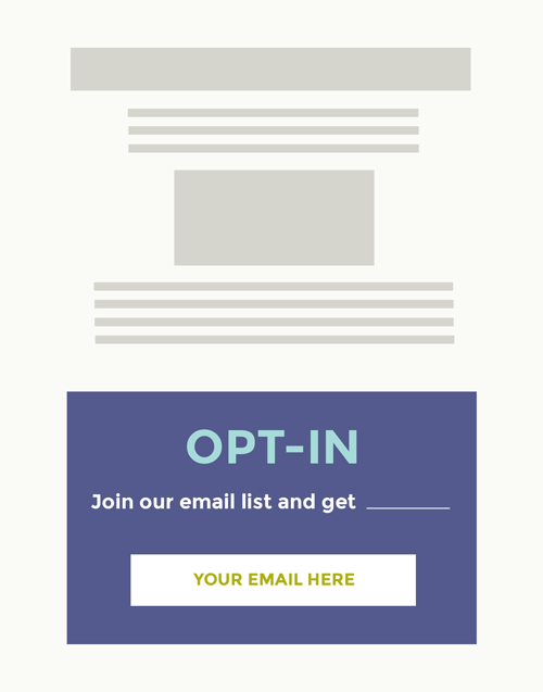 5 steps to grow your email list - Dapper Fox Design