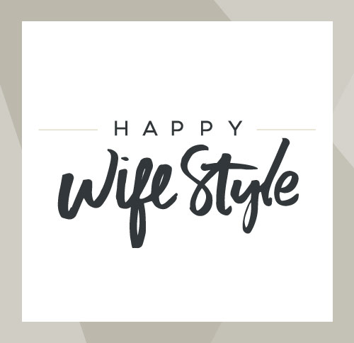 Happy WifeStyle Logo Design by Dapper Fox