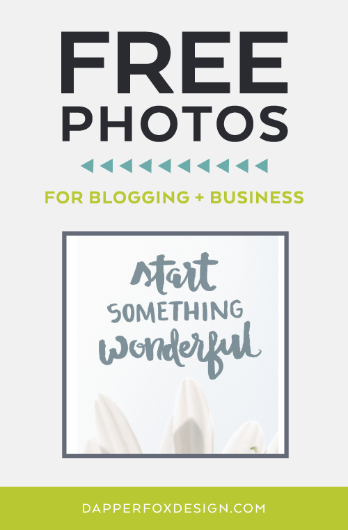 Free photos, graphics, and resources for bloggers by Dapper Fox Design - Free printables and iphone backgrounds for entrepreneurs and bloggers