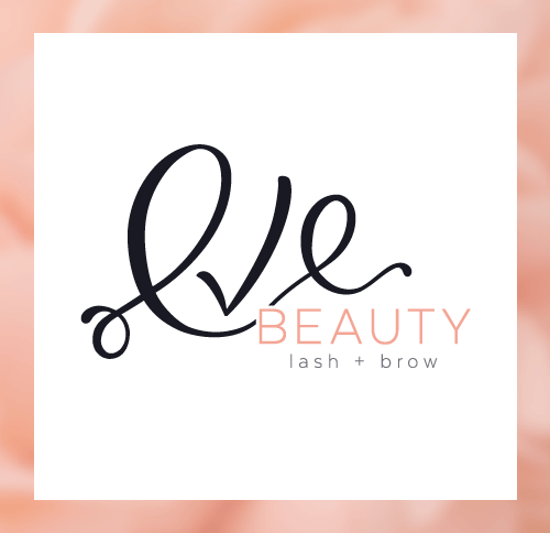 EVE BEAUTY | branding + website design — by Dapper Fox Design - Branding + Website Design. Script font logo, hand drawn logo design, feminine logo #logodesign