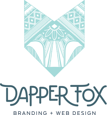 Dapper Fox Design - Branding + Website Design