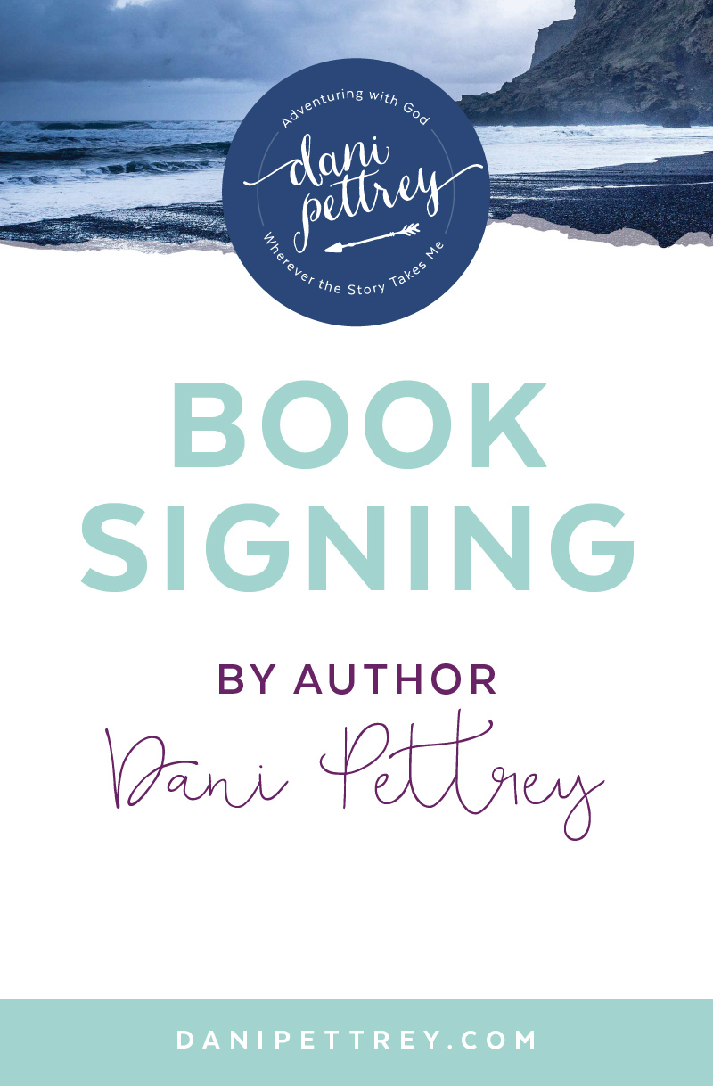 Award Winning Author Dani Pettrey Blog Post Template and Branding Design #Coastal #Beach #Ocean #Design
