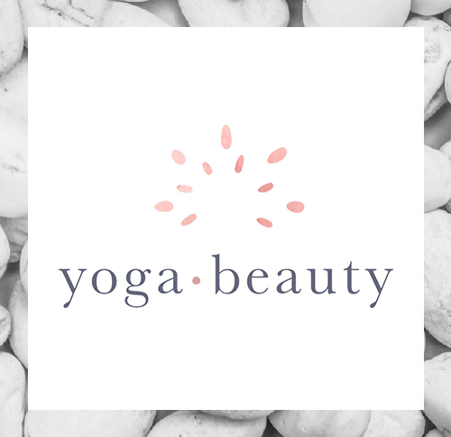 The Yoga Beauty Branding Logo and Website Design by Dapper Fox  |  Calm, Serene, Yoga, Spa, Mandala, Nature, Pastel, Purple, Grey Branding