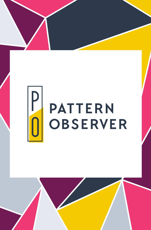 Pattern Observer Logo and Brand Design