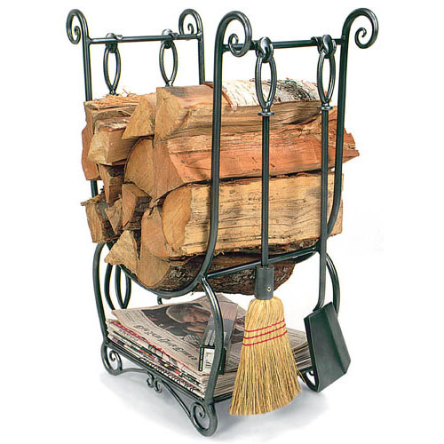 Log Stand & Log Carrier Achla Design