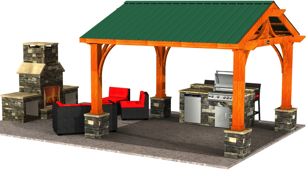Shade Structures & Cedar Pergola
