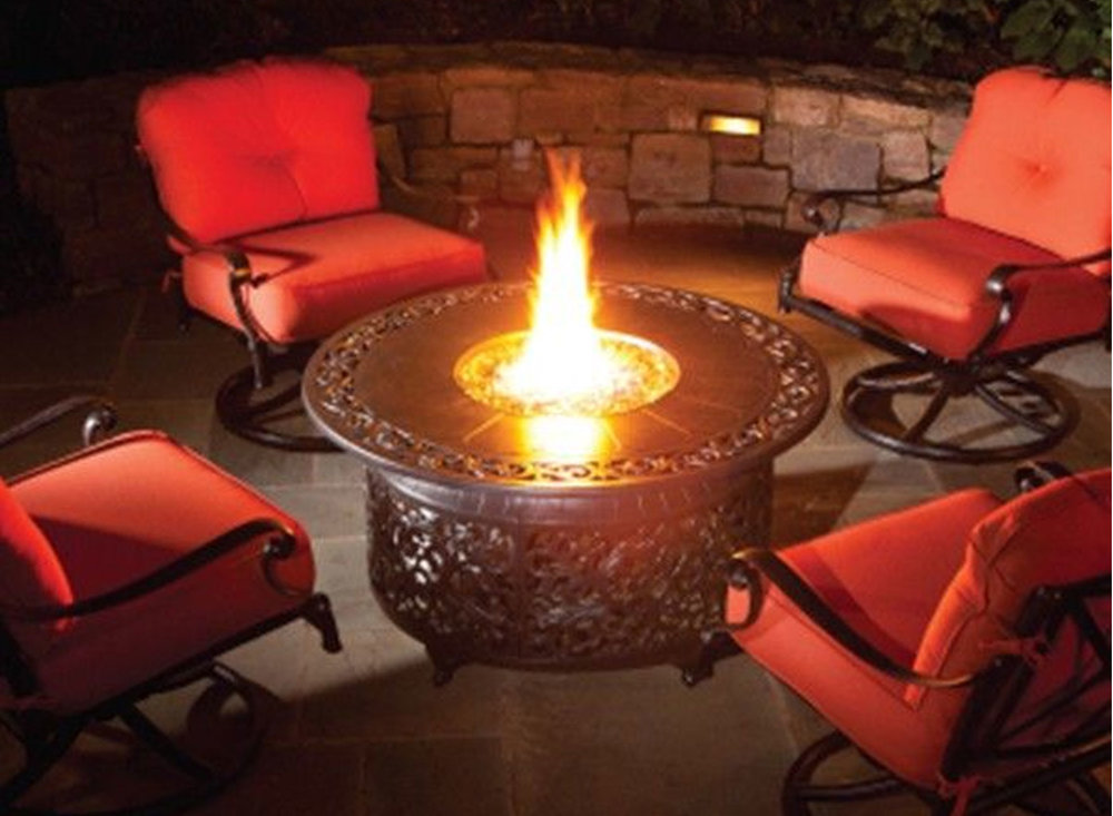 Bellagio Round Gas Fire Pit