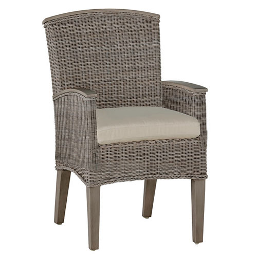 Astoria Arm Chair - Dimensions: W24.5 D27 H34.5