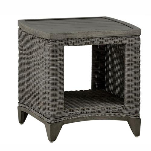 Astoria End Table - Dimensions: W21 D21 H21.5